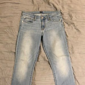 Gap light wash jeans